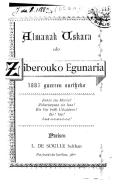 Almanak uskara edo Ziberouko egunaria.
