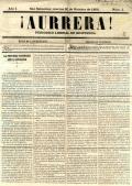 ¡Aurrera! : periódico liberal de Guipúzcoa.