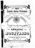 Armanac dera Mountanho / Escolo deras Pirenéos.