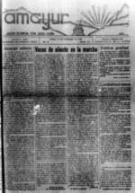 Amayur : semanario nacionalista vasco.